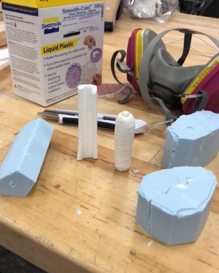 Casting veggie molds