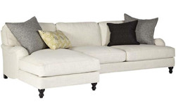 Sectional 772 RAF condo sofa LAF chaise