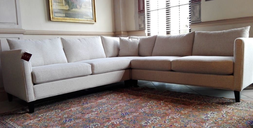 Sectional 590 RAF condo sofa, corner piece and LAF condo sofa