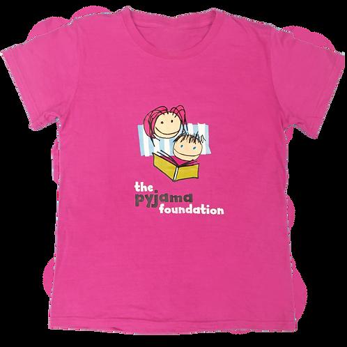 PJ Foundation Logo T-shirt in Pink