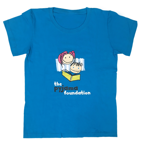 PJ Foundation Logo T-shirt in Blue