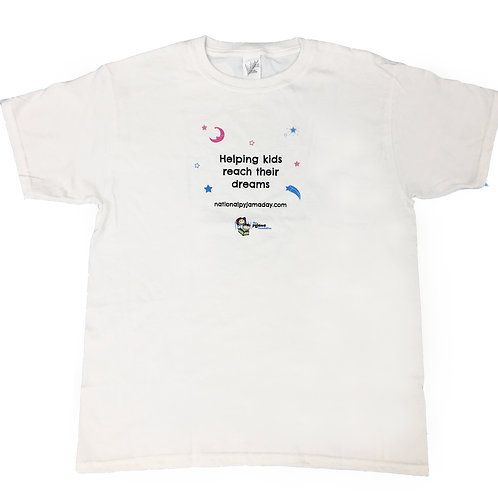 Kids White Pyjama Day T-Shirt