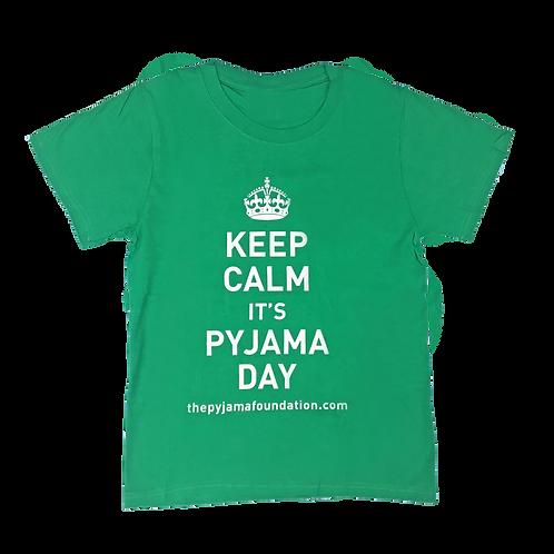 Keep Calm it's Pyjama Day Tee