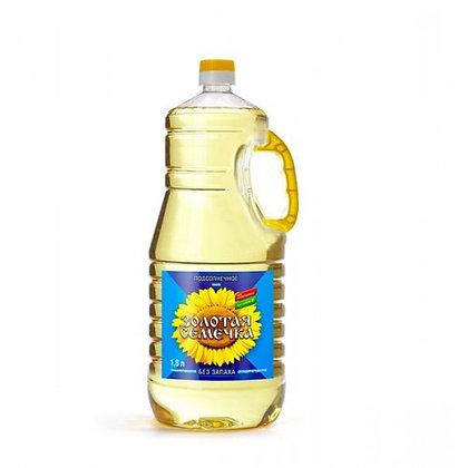 Масло Золотая семечка  подс раф/дез 1.8л *