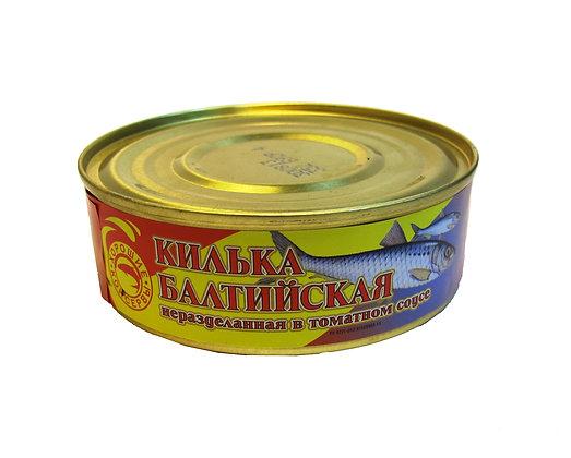 Килька балтийская в т/с 235г ж/б Мурман-рыба*