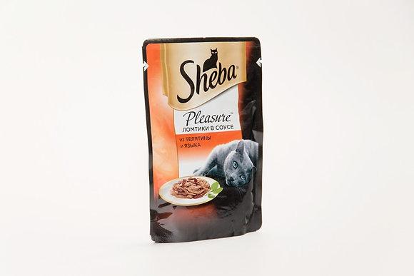 Sheba лосось ломтики в соусе 85г*