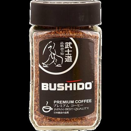 Кофе BUSHIDO черн 100г ст/б Швейцария*