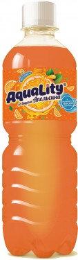 Напиток б/ал АКВАЛИТИ Увинская вкус Апельсина  0.5л