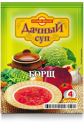 Суп Дачный  Борщ. 50г Русский продукт