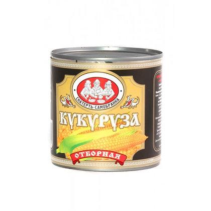 Кукуруза сладкая отборная 425мл ж/б Скатерть-Самобранка*