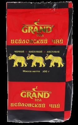 Чай Цейлонский черн. лист. Grand 200г. м/у*