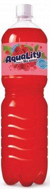 Газ вода  МАЛИНА  АКВАЛИТИ  1.5л п/б
