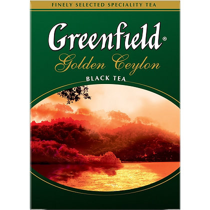 Чай Гринфилд Голден Цейлон черн. 100гр *