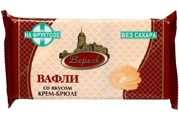 Вафли крем-брюле на фруктозе 105г  Вереск