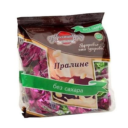 Конфеты Пралине горькое с фруктозой 180г