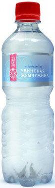 Вода мин.прир. питьевая н/г Увинская Жемчужина 0.5л п/б*