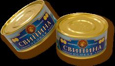 ВСТ Свинина  тушеная Особая в желе 325г ж/б ООО Восточный