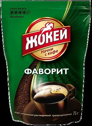 Кофе Жокей Фаворит раст/гранул 75г м/у *