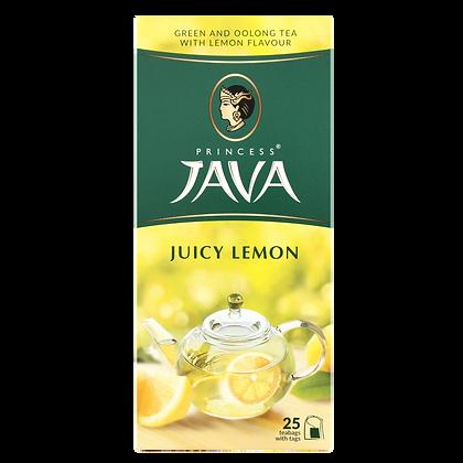 Чай ПР. Ява зеленый Сочный лимон 25*1.5г с/я *