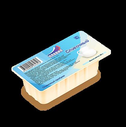 Сырный плавл. продукт Со вкусом копченого лосося 55% 80г Плавия (ванночка)