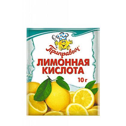Кислота лимонная 10г. м/у Приправыч Проксима