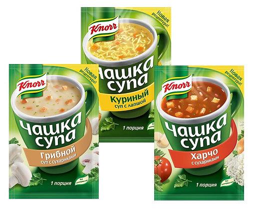 Суп-пюре Сырный Knorr 15.6г