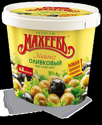 Майонез МАХЕЕВЪ Оливковый 50.5% 800г ведро