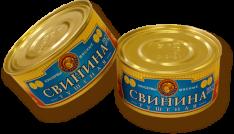 ВСТ Свинина  тушеная 325г ж/б ООО Восточный