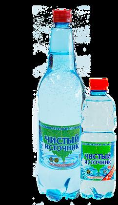 Вода питьевая газ. ЧИСТЫЙ ИСТОЧНИК  0.5л п/б