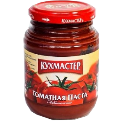Томатная паста  Экстра 270гр ст/б твист Кухмастер