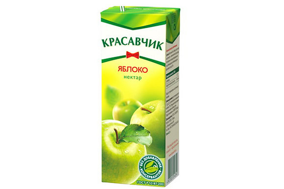 НЕКТАР КРАСАВЧИК  в ассортименте   0.2л т/п*