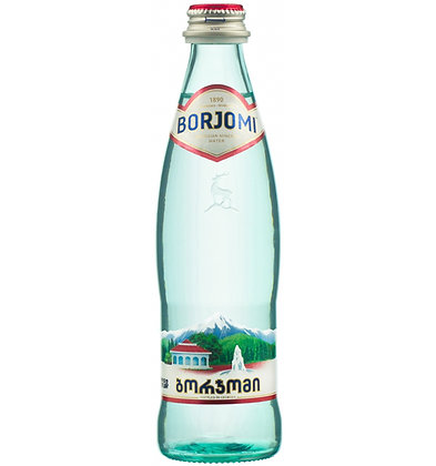 Вода БОРЖОМИ минер.газ. 0.5л ст/б