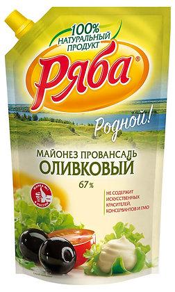 Майонез Ряба Оливковый 744г 67%