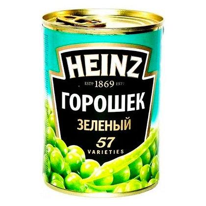 Горошек зел. 390г ж/б Heinz*