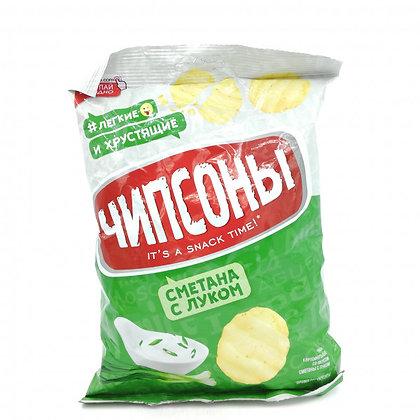 ЧИПСЫ Чипсоны картоф.Сметана с луком 40г.