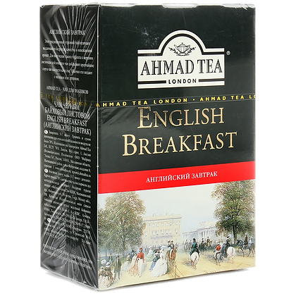Чай Ахмад Английский завтрак  черн. 100г.*