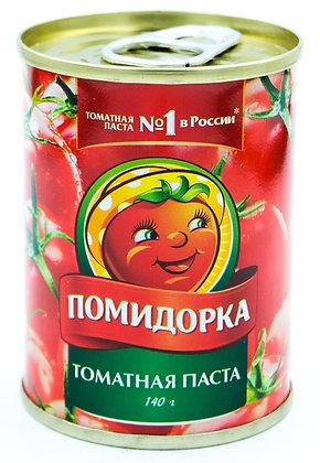 Томатная паста Помидорка 140гр ж.б  *