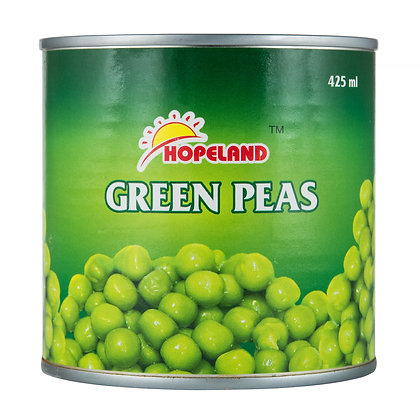 Горошек зеленый  425мл  ж/б Green Peas *