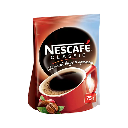 Кофе Nescafe classic 75гр м/у*