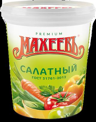 Соус майонезный МАХЕЕВЪ Салатный 25% 800г. ведро