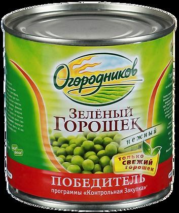 Горошек зеленый 425мл ж/б Огородников *