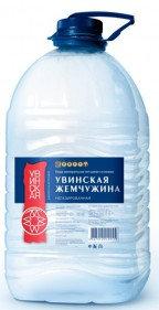 Вода мин.прир. питьевая н/г Увинская Жемчужина 5л п/б