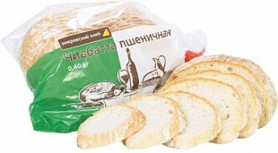 Чиабатта пшеничная 400гр Пермь *