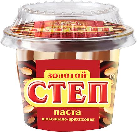 Паста Золотой Степ шоколадно-арахисовая 220г Славянка