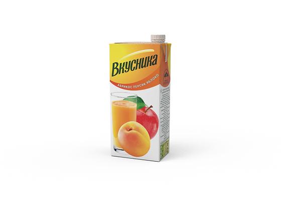 Напиток с/с  Абрикос/персик/яблоко 0.95л.т/п Вкусника Самара *