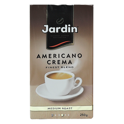 Кофе Jardin Amtricano Crema молотый 250г *