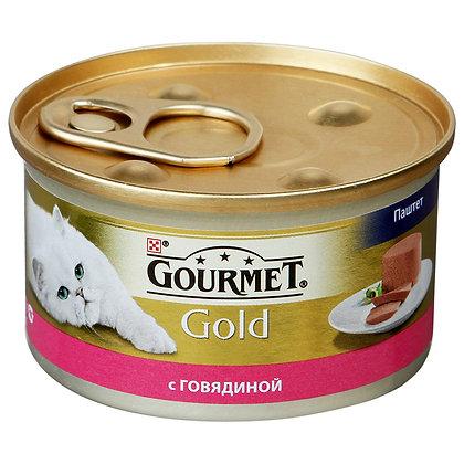 Gourmet паштет с индейкой 85г ж/б *