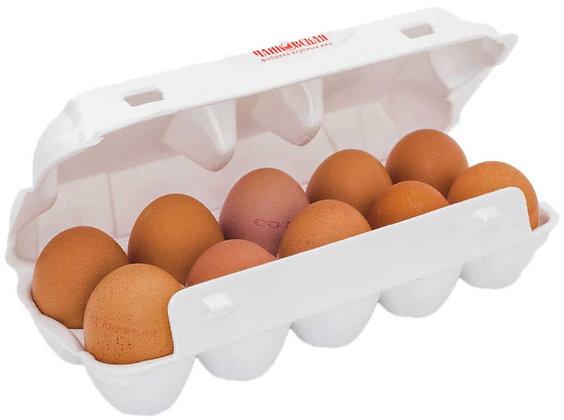 Яйцо куриное фас. Янтарное Отборное СО ЧПТФ (10шт)