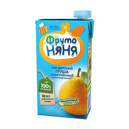 Сок яблочно-персиковый  без сахара 0.5л Фрутоняня