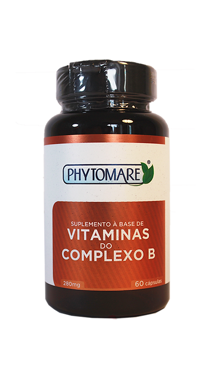 Vitaminas do Complexo B 280mg (60 CAPS)